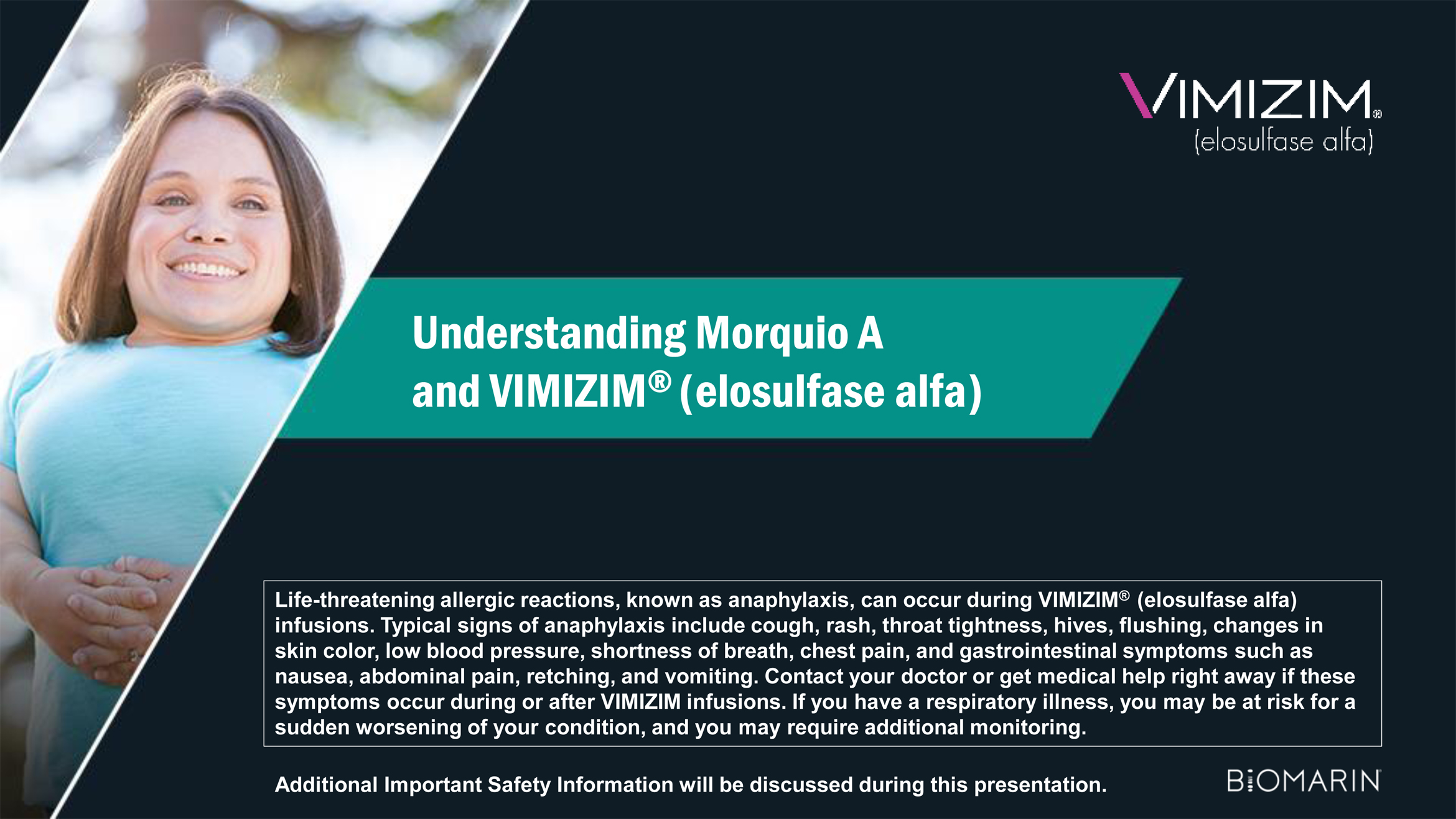 VIMIZIM® (elosulfase alfa) product fact sheet